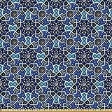 ABAKUHAUS Arabisch Stoff als Meterware, Persisches Gypsy