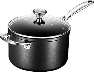 Le Creuset of America Toughened NonStick Saucepan with Lid, 4 quart