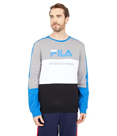 Fila Bravo Sweatshirt (Gray/White/Black) Men