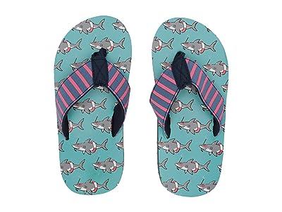 Hatley Kids Limited Edition Flip-Flop (Toddler/Little Kid) (Snorkeling Sharks) Boy