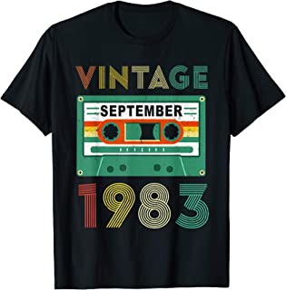 Mixtape September 1983 36th Years Old Birthday Gift T-Shirt