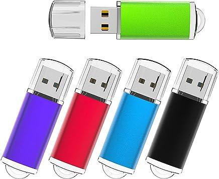 KEXIN 5 Pack 32GB USB Flash Drives 32 GB Thumb Drives...