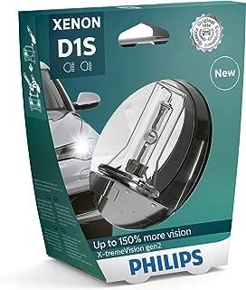 Philips X-tremeVision +150% Xenon Headlight Bulb D1S Gen2 85415XV2S1