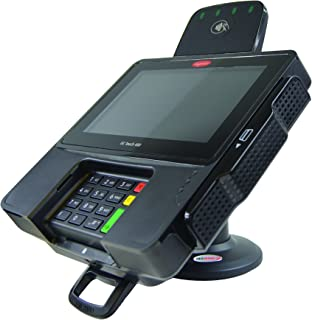 Credit Card Machine Stand for Ingenico iSC480 Compact Base with Lock & Key