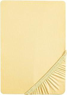 biberna 0077144 Drap housse jersey fin (hauteur du matelas max.22 cm), coton peigné, ultra doux 1x 140x200 cm - 160x200 c...