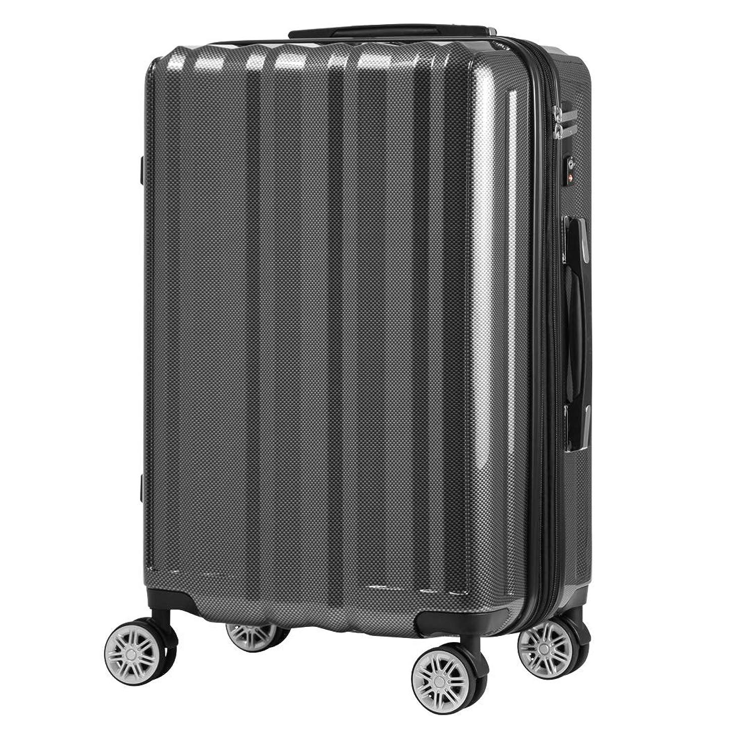 画家リビングルーム放射能[アウトレット] スーツケース キャリーバッグ キャリーバック キャリーケース 機内持込サイズ 無料受託手荷物 小型 SS サイズ 容量拡張機能搭載 ダブルキャスター B-5102