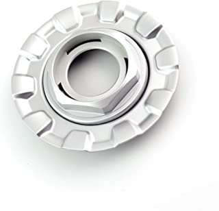 Rhinotuning 162mm(6.37in)/72mm(2.8in) Silver Car Wheel Center Hub Caps Set of 1 for BBS RZ RG 15