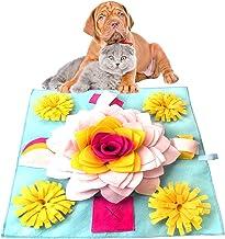 icyant Snuffeltapijt voor Honden en Katten, Voedermat en Trainingsmat Interactief Speelgoed Snuffle Mat voor Honden Honden...