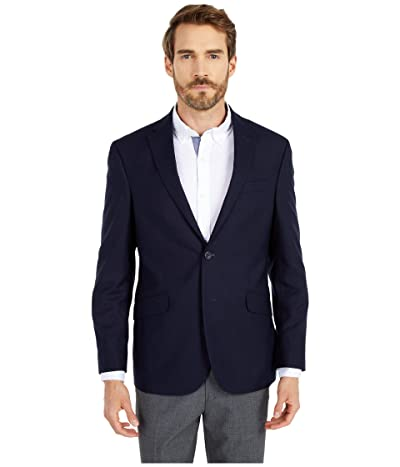 Kenneth Cole Reaction Techni-Cole Stretch Suit Separate Blazer (Navy Shadow Check) Men