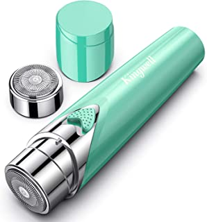 Facial Hair Removal for Women, Painless Hair Remover Shaver with 1 Extra Replacement Head