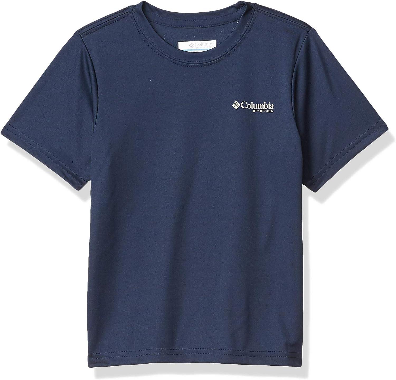 Columbia Boys' PFG Offshore Short Sleeve Shirt: Clothing