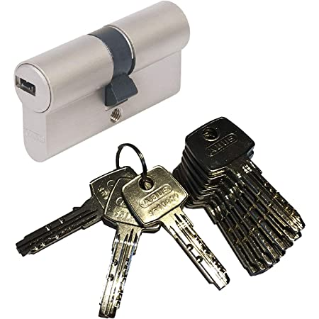 ABUS ec550 Double Cylinder Lock Cylinder 30//50mm with 3 to 10 Keys