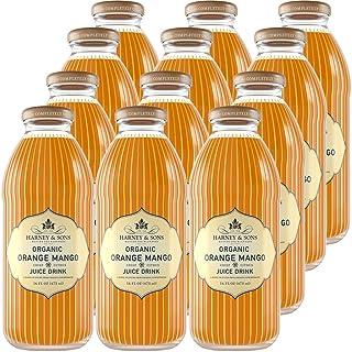 Harney & Sons Organic Orange Mango Juice Drink, 16 Ounce (Pack of 12) (70033)