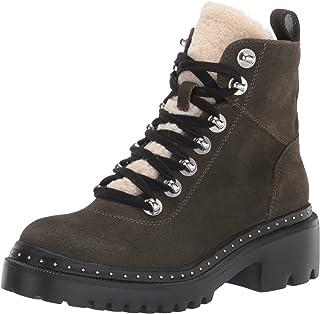 Blondo Women's Carrie Combat Boot, Black, 10