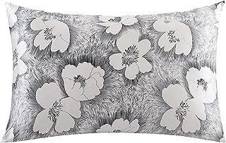 ZIMASILK 100% Natural Silk Pillowcase for Hair and Skin Health, Floral Print, 1pc (King 20''x36'', pattern10)