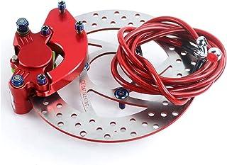 MSFDOG 220 mm reminstelling geschikt voor elektrische scooter gemodificeerde swingarm akcnd motorfiets onderdelen (Color :...