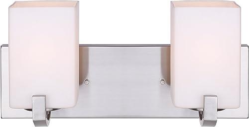 popular Canarm online IVL422A02BN Palmer 2021 2-Light Bath Vanity online