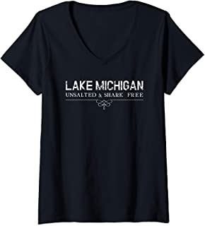 Best lake michigan unsalted and shark free t shirt Reviews