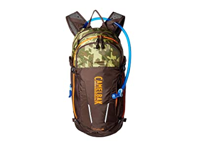 CamelBak M.U.L.E. 100 oz (Brown Seal/Camelflage) Backpack Bags