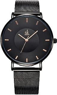 Watches Women Stainless Steel Band Ladies Quartz Wristwatches Women Clock Bracelet Watch 0059