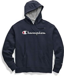 Champion mens Graphic Powerblend Fleece Hood Graphic Powerblend Fleece Hoodie