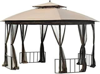 Sunjoy Replacement Canopy Tent for CATALINA GAZEBO 11x13 FT, Ginger Snap