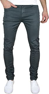 F&H Vermont Mens Slim Fit Stretch Chino Jeans