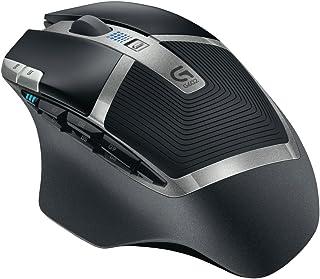 Logitech G602 Ratón Inalámbrico, 2,500 dpi, 11 Botones Programables, Batería de 250h, Memoría Integada, Compatible con PC/Mac, Negro