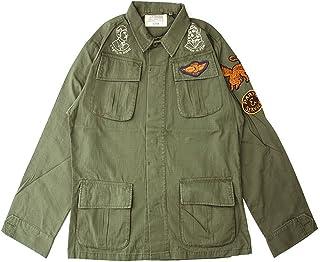 [デウス エクス マキナ] Deus ex Machina シャツ TRAVIS OVER ファティーグシャツ DMP65876 M アーミーグリーン