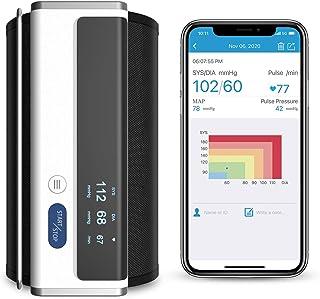 Wellue Armfit Blood Pressure Monitor with Upper Arm Cuff, Digital Bluetooth Blood Pressure Machine with Large Cuff, Stores...