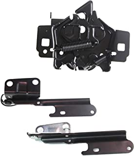 Hood Hinge Kit Compatible with 2005-2009 Ford Mustang Hood Hinge Hood Latch