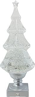 Grasslands Road 471776, Light-up Glitter Christmas Tree, White