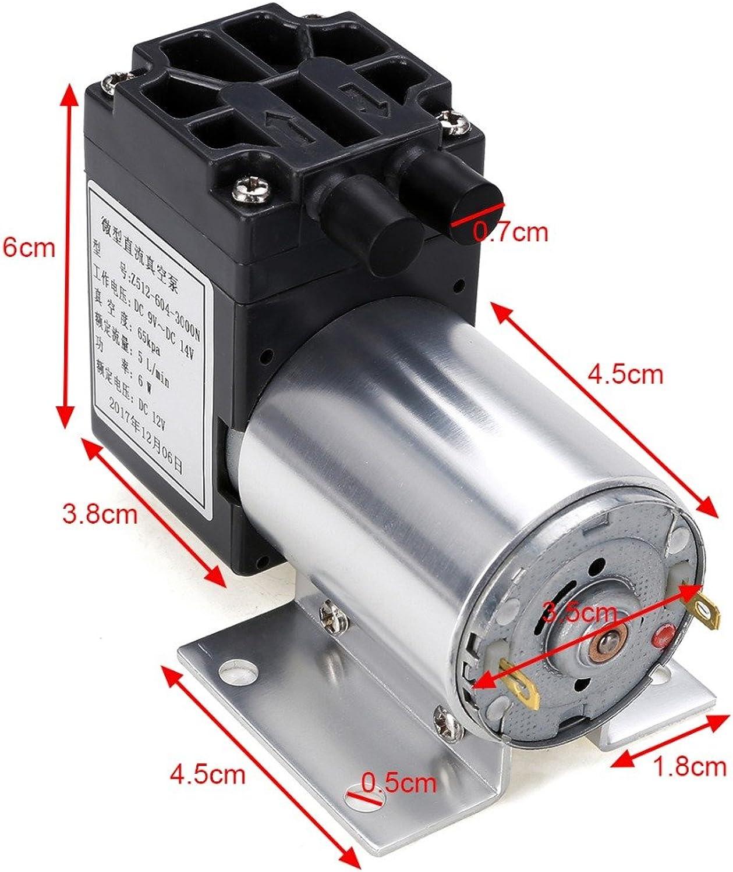 Vacuum Pump  12v 6w Mini Vacuum Pump Pressure Electric Diaphragm with Holder 5l Min  Pump Air Diaphragm Diaphragm Vacuum Pump Vacuum Water Vacuum Electric Micro Pump Air Mini Pump Pump