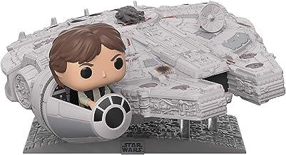 Funko Pop! Deluxe: Star Wars - Millennium Falcon with Han Solo, (Amazon Exclusive)