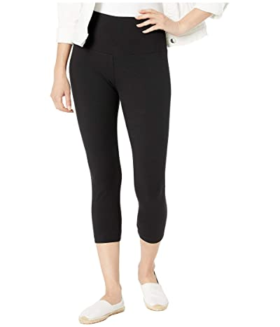 Lysse Cropped Cotton Leggings (Black) Women
