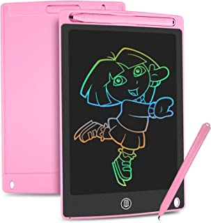 comprar comparacion HOMESTEC Tableta Escritura LCD Color, Pizarra Digital para apuntar recordatorios Escribir o Dibujar (8,5 Pulgadas, Rosa)
