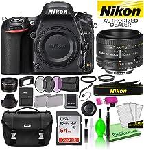 $1628 » Nikon D750 DSLR Digital Camera with AF 50mm f/1.8D Lens (1543) USA Model Deluxe Bundle -Includes- Sandisk 64GB SD Card + Nikon Gadget Bag + Filter Kit + Spare Battery + Telephoto Lens + More