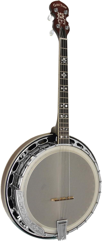 Dealing full price reduction Gold Tone IT-250F Irish Tenor Brown Vintage New Free Shipping Banjo