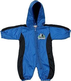 cabc3046b Minnesota Timberwolves NBA Baby Boys Infants Hooded Wind Coverall
