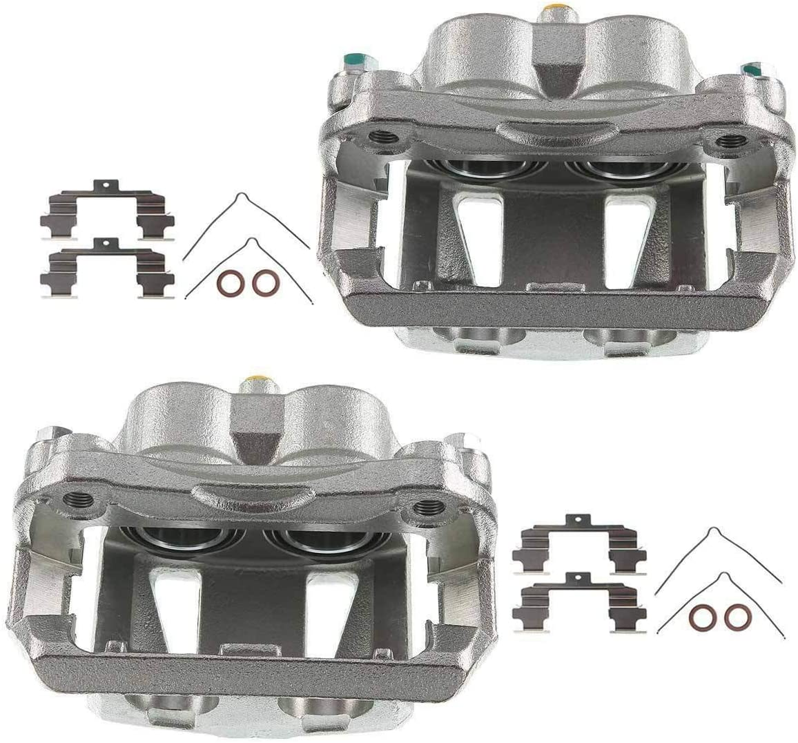 Set of 2 Year-end gift Front Driver and Passenger Caliper Fashionable Assembly Side Brake