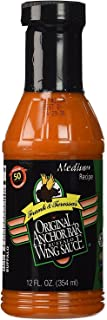 Anchor Bar Buffalo Wing Sauce, Medium Recipe, 12 Ounces (Pack of 2)
