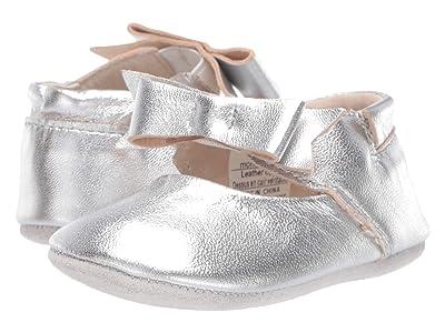 Robeez Sofia First Kicks (Infant/Toddler) (Silver Metallic) Girl