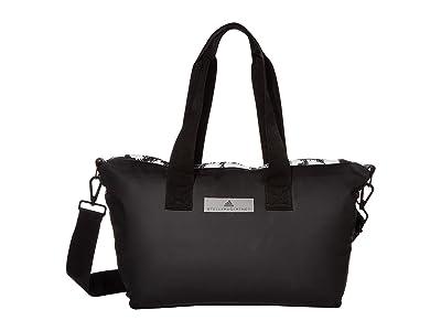 adidas by Stella McCartney Studio Bag Small DZ6826 (Black/Black/White) Duffel Bags