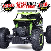 RC Car, NQD 1: 16 Dual Motors Remote Control Truck, 2.4Ghz 4WD Off Road Remote Control Car with Two Rechargeable Batteries, Buggy Hobby Toy for Kids & Adults