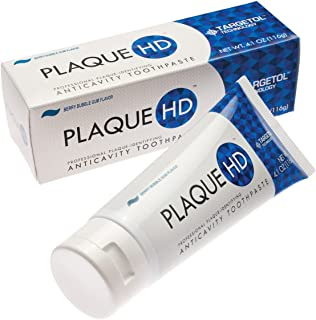 Plaque HD Plaque Identifying Toothpaste | Plaque Disclosing Berry Bubble Gum Toothpaste with Xylitol pH Balancing Ingredients for Healthy | Gently Whitens Teeth, Reduces Inflammation
