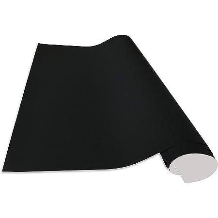 Cuadros Lifestyle Lámina autoadhesiva y magnética de vinilo resistente para presentación y decoración en color negro, tamaño: 100 x 100 cm - con tizas e imanes en un set.