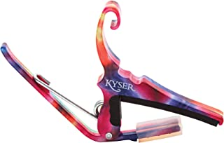 Kyser Quick-Change Capo for 6-string acoustic guitars - Tie-Dye