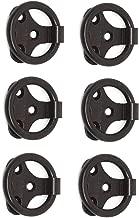ACE Folding Pull Ring (Aluminium Brown PC Finish Set of 6 Pcs)