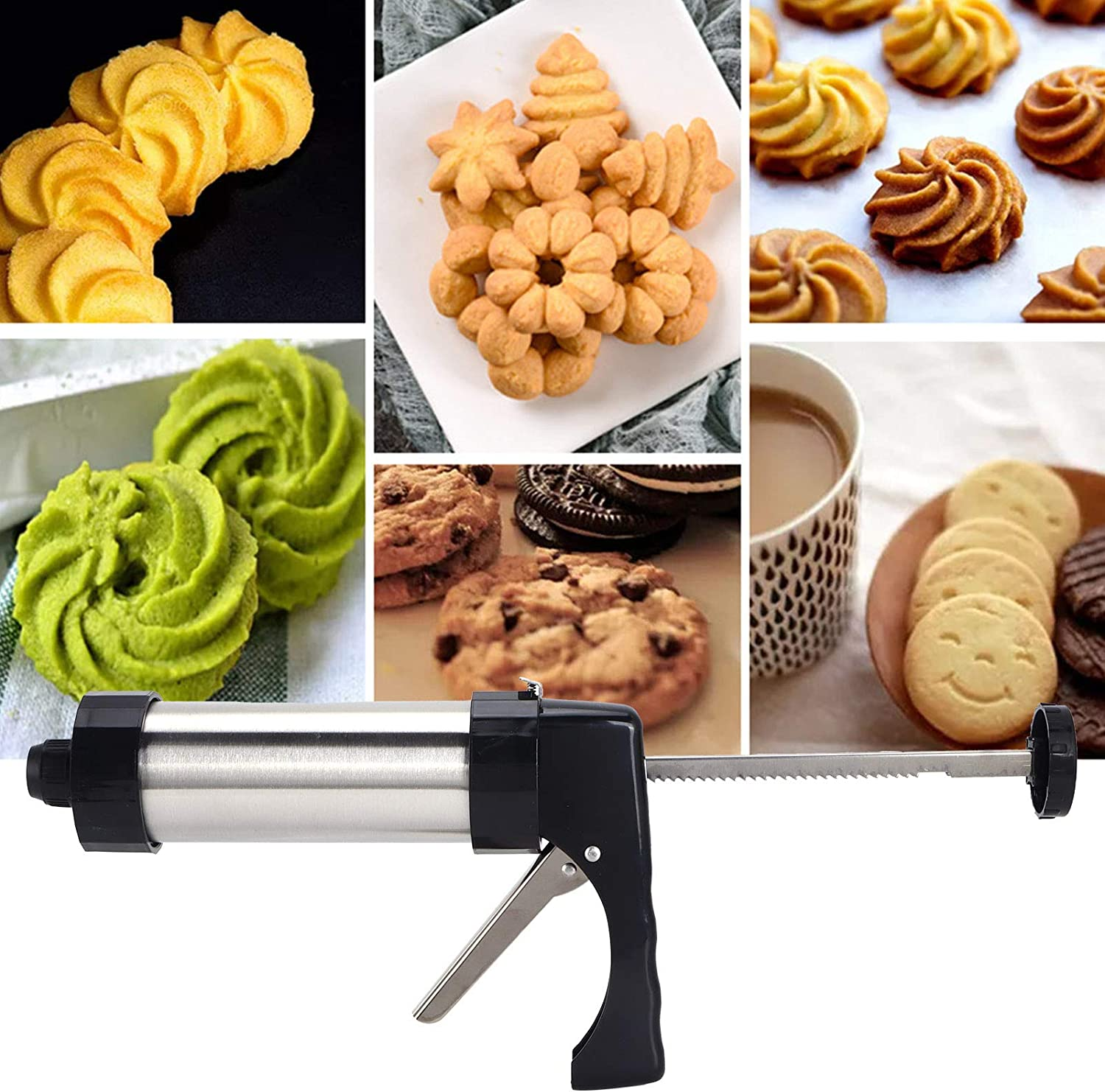 Cookies Press Kit Convenient To Maker Foodgrade Biscuits Use Nippon regular agency St Oakland Mall