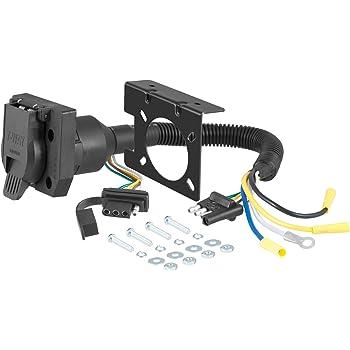 Reese Towpower 85343 4-way Flat to 7-way Blade Terminal Adapter